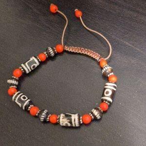 Beaded bracelet from Peru